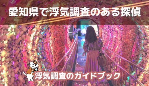 愛知(名古屋)【浮気調査×探偵】気になる料金や口コミを調査しました!
