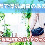 岐阜県のおすすめ探偵事務所で浮気調査