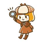 Naruko(なるこ)の虫眼鏡を掲げるアイコン画像