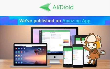 AirDroid アプリ
