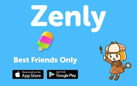 Zenlyアプリ